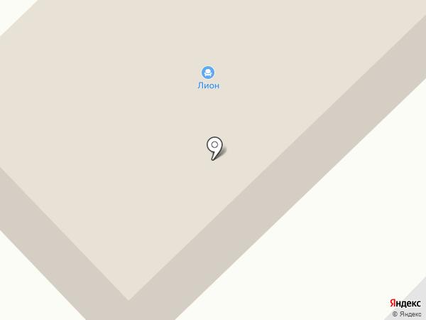 Лион на карте Ноябрьска