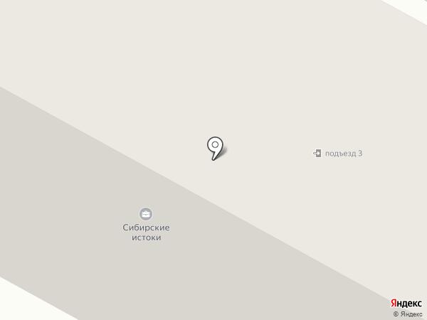 Северная вахта на карте Ноябрьска