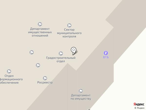 УФК на карте Ноябрьска
