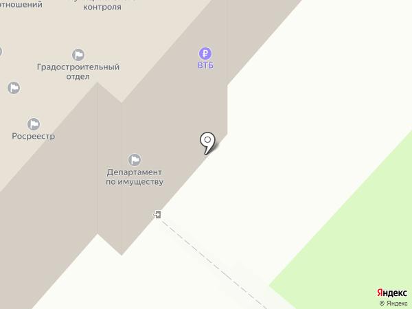 Ноябрьский отдел Управления федеральной службы регистрации, кадастра и картографии по Ямало-Ненецкому автономному округу на карте Ноябрьска
