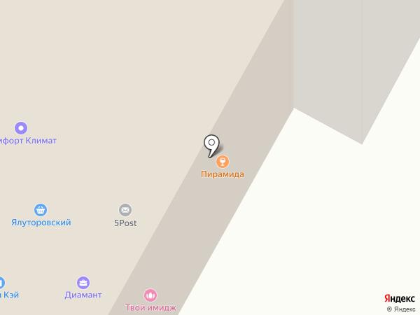 Фабрика Интерьера на карте Ноябрьска