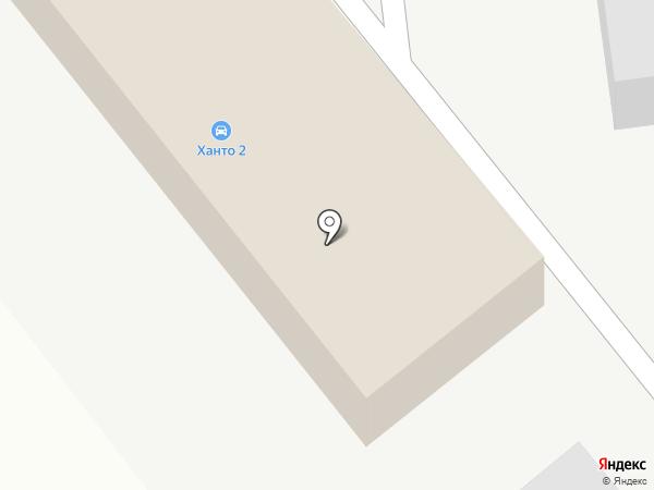 Ханто-2 на карте Ноябрьска