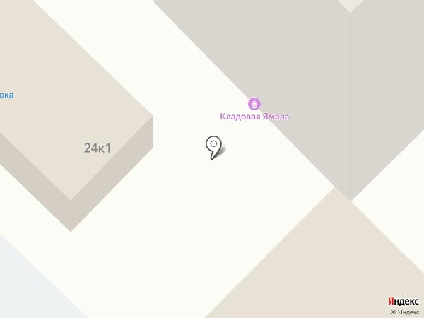 Абсолют-Дока на карте Ноябрьска