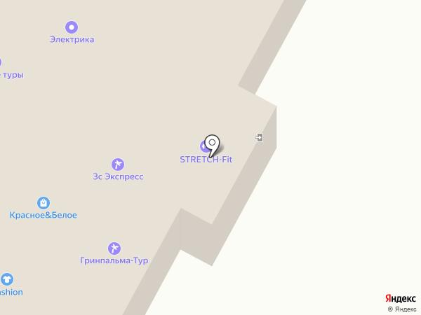 ЗАПАДНО-СИБИРСКИЙ ЭКСПРЕСС на карте Ноябрьска