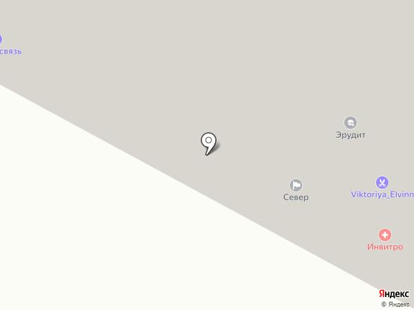 Север, ТСЖ на карте Ноябрьска