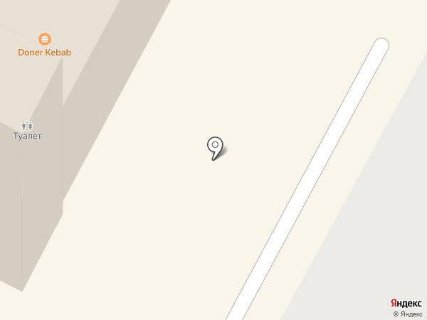 Почтовое отделение №1 на карте Ноябрьска