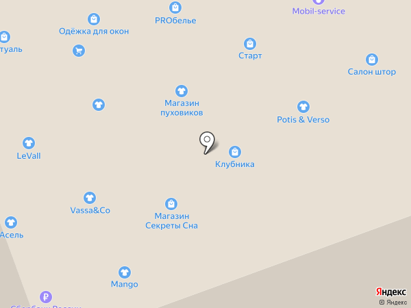 Л`этуаль на карте Ноябрьска