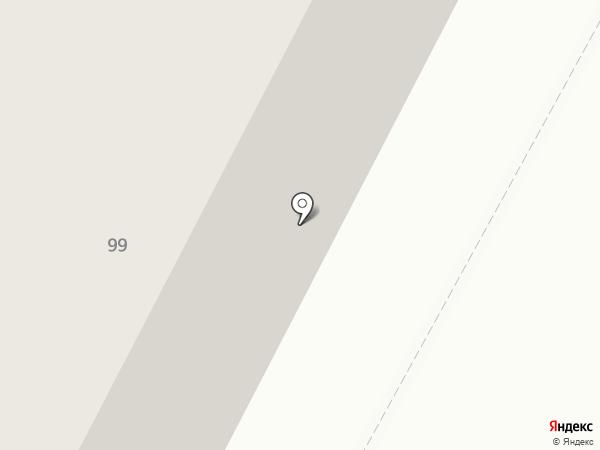 Магистраль на карте Ноябрьска