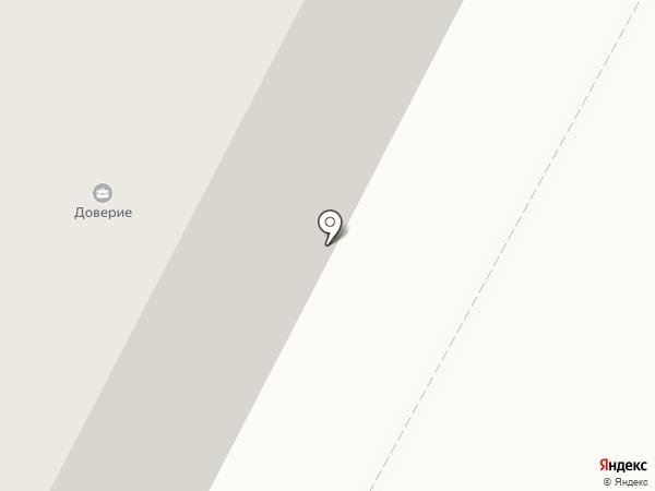 Контур на карте Ноябрьска