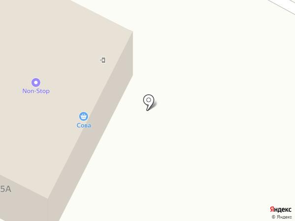 Сова на карте Ноябрьска