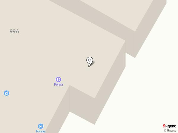 Спецэмальснаб на карте Ноябрьска