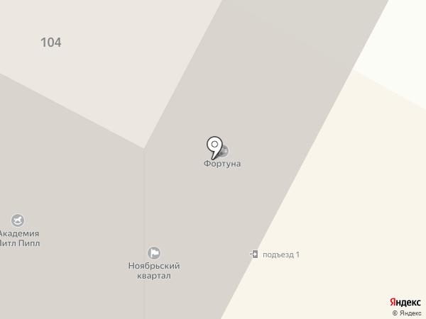Высотник на карте Ноябрьска