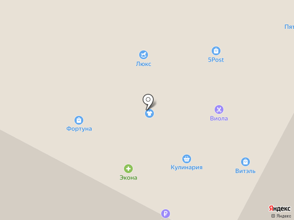 Сургут-Пласт на карте Ноябрьска