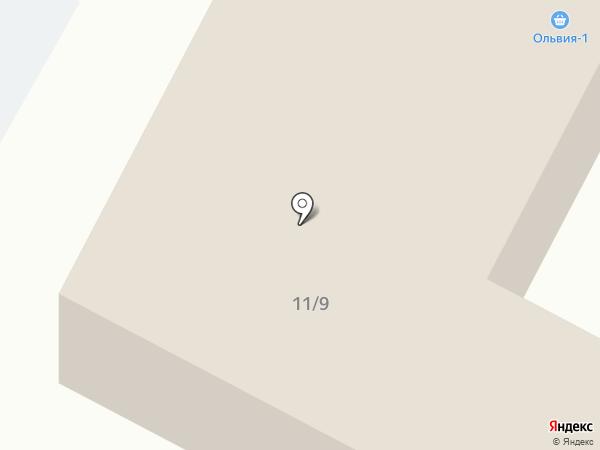 Ольвия-1 на карте Ноябрьска