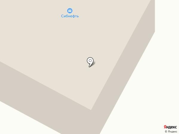 Сибнефть на карте Ноябрьска