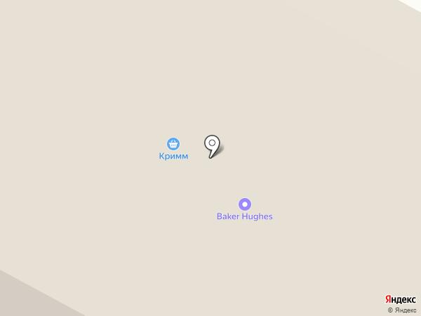 Вакула на карте Ноябрьска