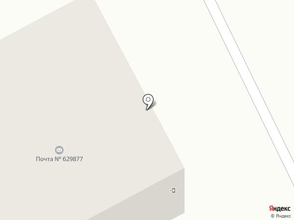 Сельское отделение почтовой связи на карте Ханымея