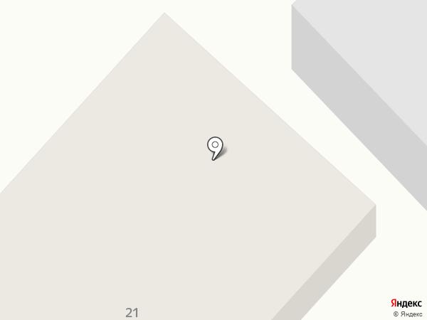 Заря на карте Ханымея