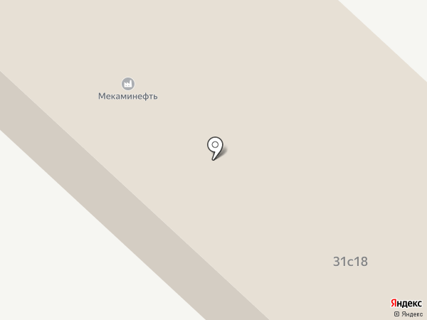 МеКаМинефть на карте Мегиона