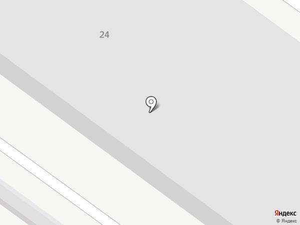 СТО на карте Мегиона