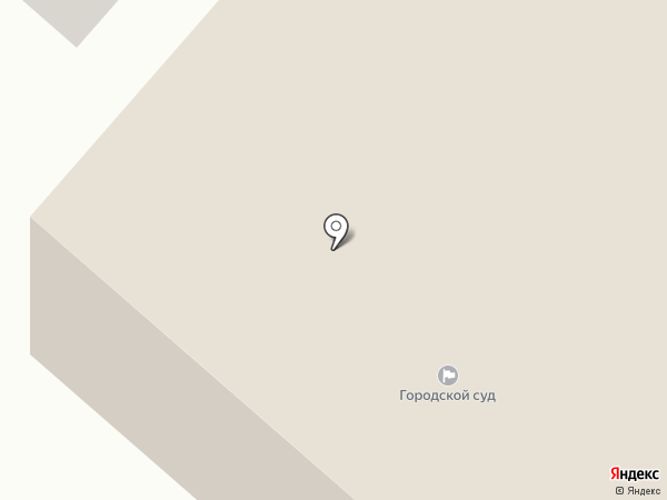 Мегионский городской суд на карте Мегиона