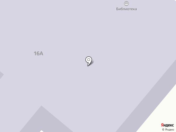 Центральная городская библиотека г. Мегиона на карте Мегиона