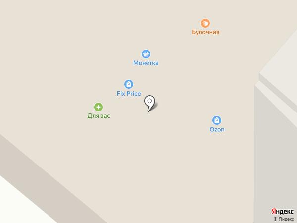 Банкомат, АКБ Югра на карте Мегиона