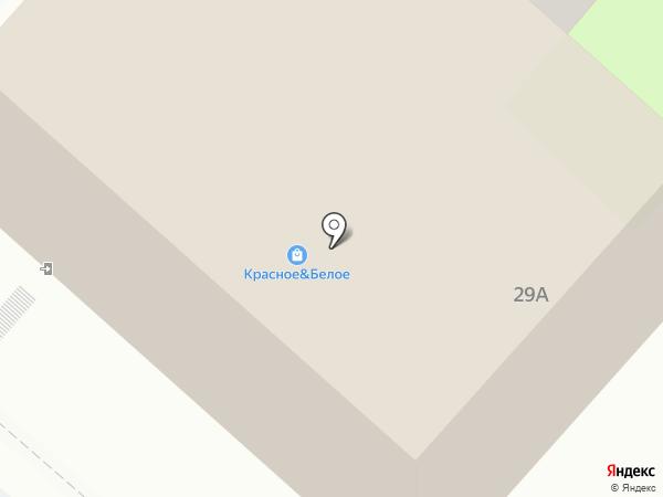 Красное & Белое на карте Мегиона
