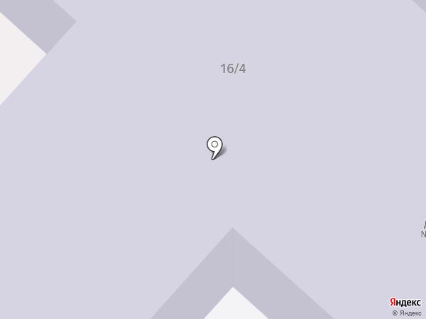 Детский сад №6, Буратино на карте Мегиона