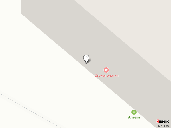 Мегионская городская стоматологическая поликлиника на карте Мегиона