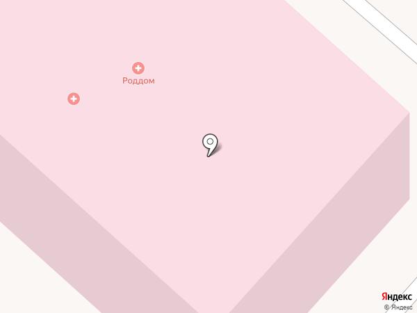 Родильный дом на карте Мегиона