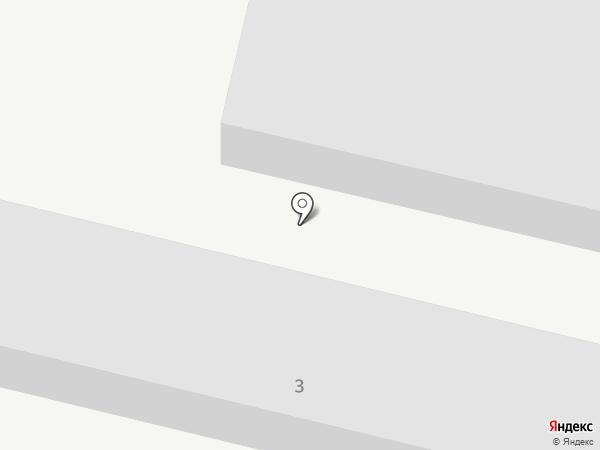 Магазин резинотехнических изделий на карте Мегиона