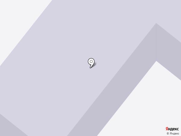 Детский сад №2, Рябинка на карте Мегиона
