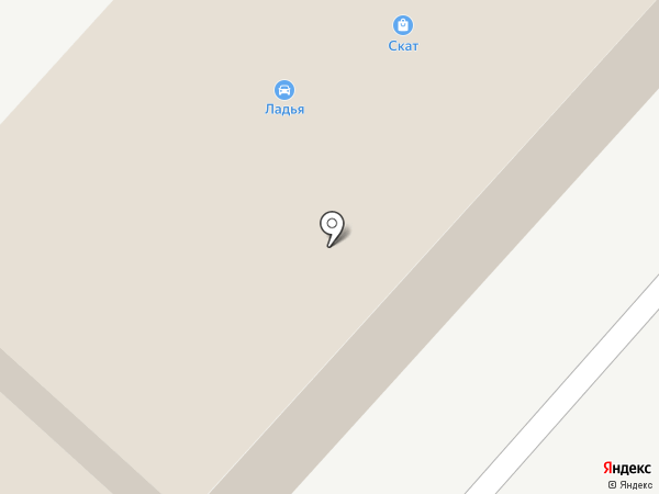 Ладья на карте Мегиона