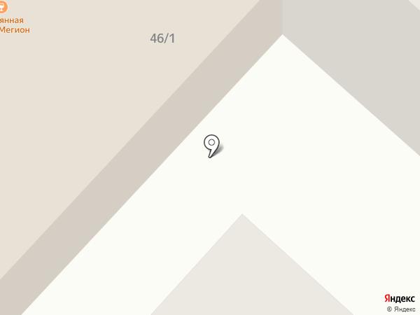 Пивная кружка на карте Мегиона