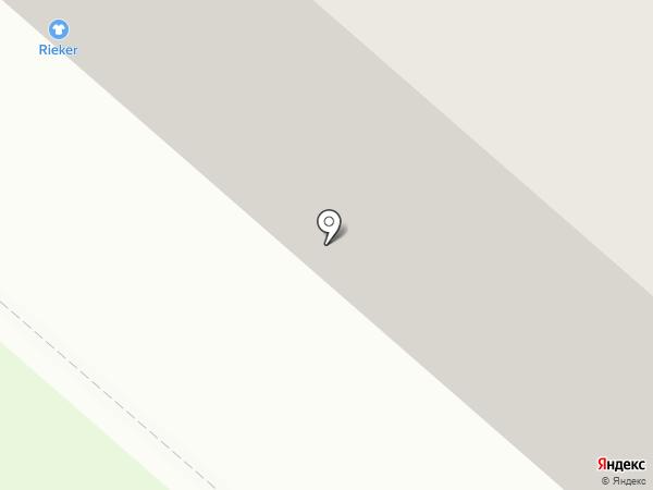 Аптека от склада на карте Мегиона