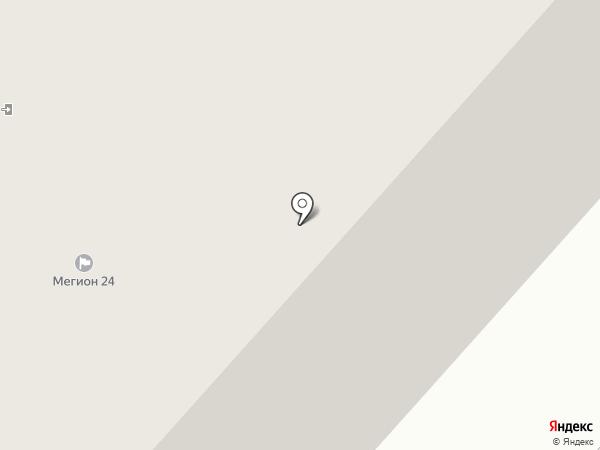 Окружной Бизнес-Инкубатор на карте Мегиона