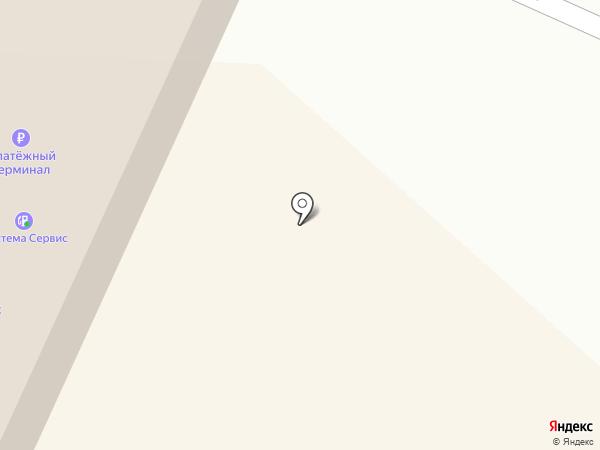 Магазин стройматериалов на карте Мегиона
