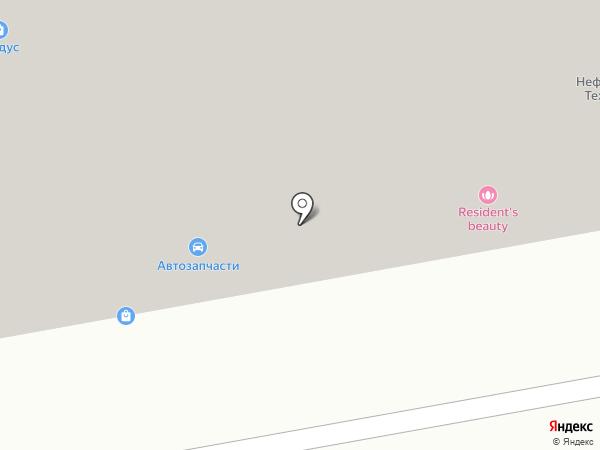 Бустер на карте Мегиона