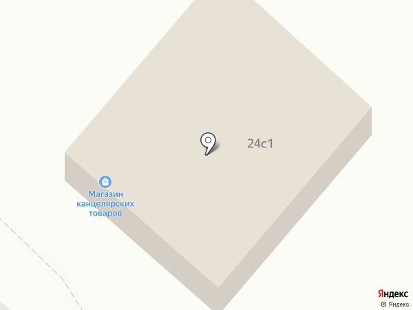 Продуктовый магазин на карте Мегиона
