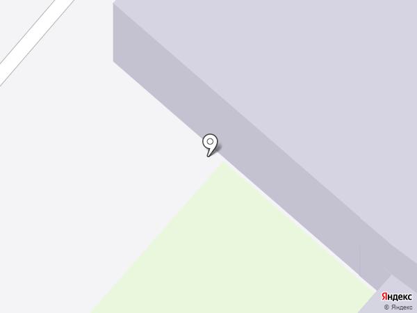 Детский сад №9, Елочка на карте Мегиона