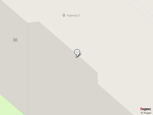 Снежок на карте Мегиона