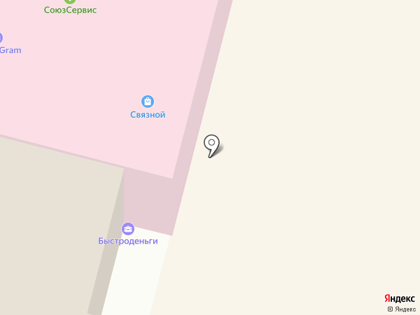 Связной на карте Мегиона
