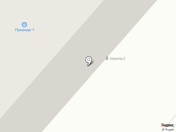 Элина на карте Мегиона