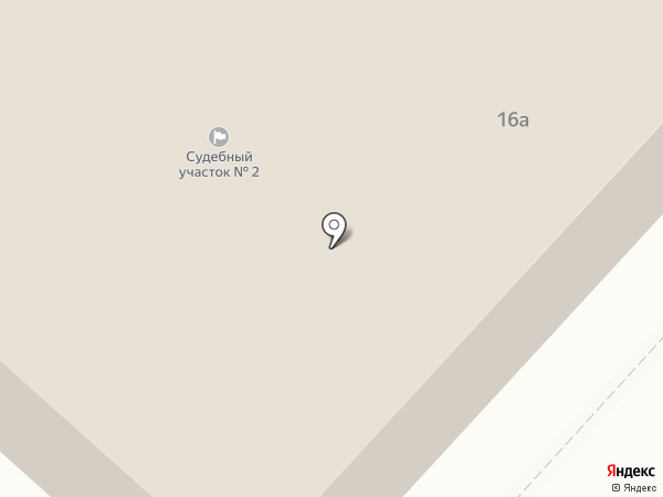 Судебный участок на карте Мегиона