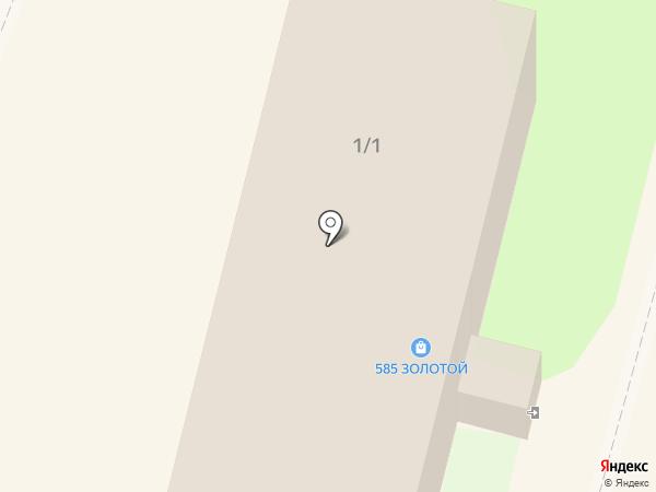 585 на карте Мегиона
