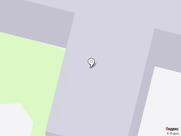 Детский сад №5, Крепыш на карте Мегиона