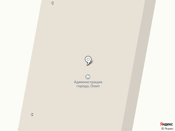 Управление опеки и попечительства администрации г. Мегиона на карте Мегиона