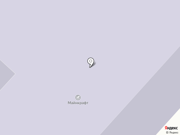 Средняя общеобразовательная школа №4 на карте Мегиона