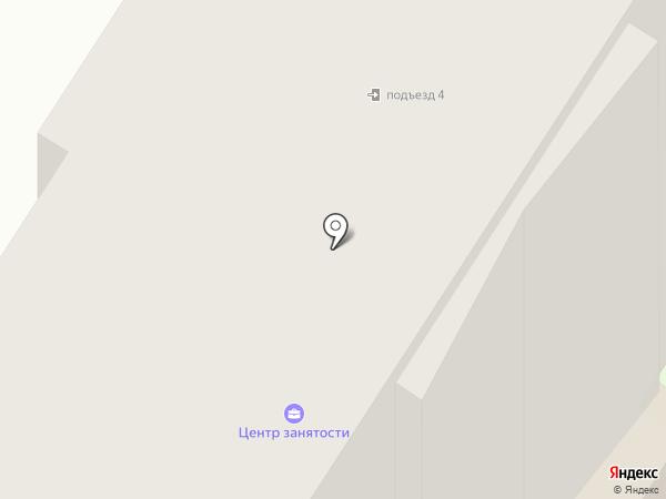 Мегионский центр занятости населения на карте Мегиона